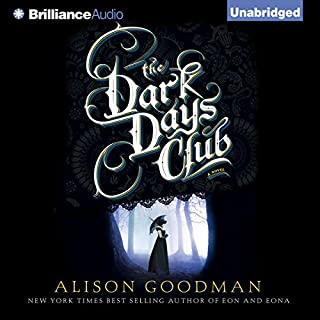 The Dark Days Club audiobook cover art