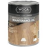 Woca Natur - Aceite de mantenimiento para suelos de madera (1,0L)