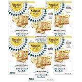 Simple Mills Almond Flour Crackers, Sea Salt, Gluten Free, Flax Seed, Sunflower Seeds, Corn Free,...