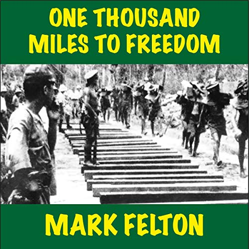 One Thousand Miles to Freedom audiobook cover art