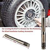 Yunhigh Ruota per Auto in Lega di Alluminio Avvitata nell'attrezzo di allineamento rapido Pneumatico per Auto Posizionamento Perno Ruota M12 1.5 Perno di Posizionamento Auto