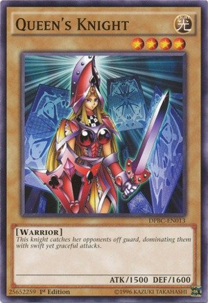YU-GI-OH! - Queen39;s Knight (DPBC-EN013) - Duelist Pack 16: Battle City - 1st Edition - Common