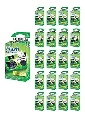 100x Fuji Quicksnap Flash 400 Disposable 35mm Camera 27 Exp 09/2020 FRESH from 21Supply