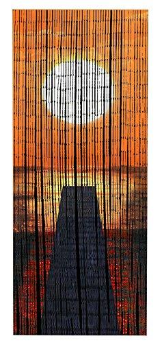 WENKO, Bambú, 90 x 200 cm, Multicolor