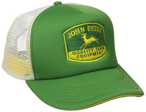 John Deere Men's Quality Equipment Foam Trucker,