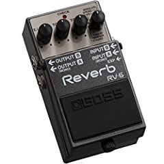 Compact and versatile reverb pedal with rich, expansive soundDial in sophisticated, top-level reverb tones quickly with simple controlsNewly developed studio-grade algorithms powered by cutting-edge BOSS technologyEight sound modes provide a diverse ...