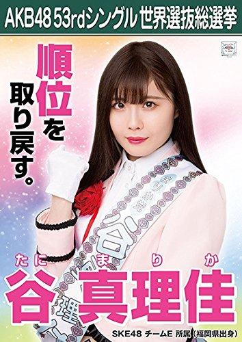 【谷真理佳】 公式生写真 AKB48 Teacher Teacher 劇場盤特典