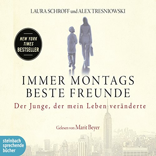 Immer montags beste Freunde audiobook cover art