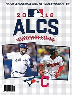2016 ALCS GAME PROGRAM TORONTO BLUE JAYS CLEVELAND INDIANS AMERICAN LEAGUE MLB