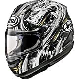 Arai Corsair-X Kiyonari Adult Street Motorcycle Helmet - Black/Large