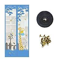 ドア防蚊磁気カーテン、暗号化されたスクリーンドア-E-900*2000 mm