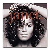 Dickes Janet Jackson_Leinwand-Kunst-Poster und