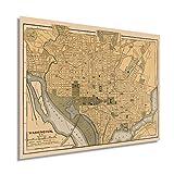 Historix Vintage 1897 Karte von Washington DC – 45,7 x 61