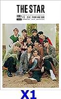表紙:X1,CIX/THE STAR(ザ・スター) 12月号(2019)【4点構成/韓国雑誌//韓国歌手/k-pop/エックスワン/俳優Park Hae Soo