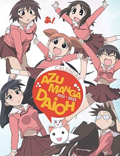 Azumanga Daioh Calendar 2021-2022: Anime 18-month Calendar 2021-2022 with 8.5x11 inches size...