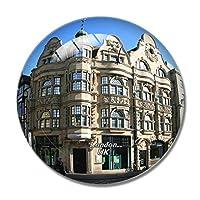 英国イングランドロンドンオックスフォードストリート冷蔵庫マグネットホワイトボードマグネットオフィスキッチンデコレーション