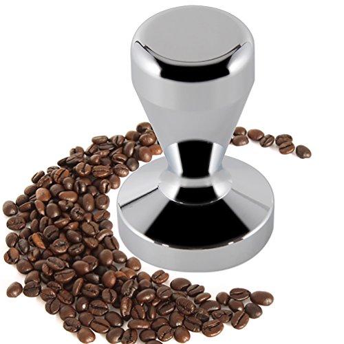 ZNYSTAR Acciaio Inossidabile caffè Tamper Espresso in Acciaio Inox