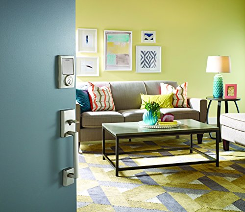 Schlage Sense Smart Deadbolt with Century Trim in Satin Nickel (BE479 CEN 619)