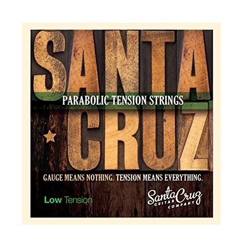 Santa Cruz Parabolic Tension Saiten für Akustikgitarre Niederspannung