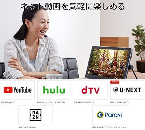 パナソニック15V型ポータブル液晶テレビプライベート・ビエラUN-15TD10-Kインターネット動画対応防水タイプ500GBHDD録画内蔵/ブルーレイ再生機能付きブラック