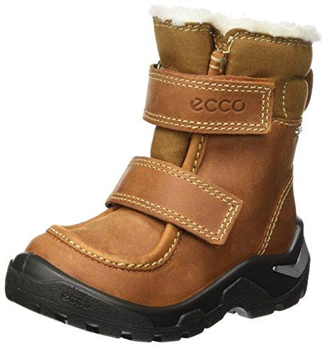 ECCO Unisex Baby Snowride Klassische Stiefel, Braun (Amber), 30 EU