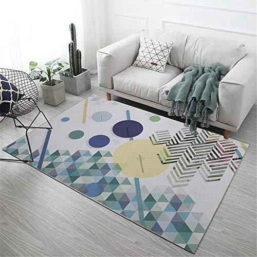 Alfombra Juegos Infantil Alfombra Grande Las alfombras de los dormitorios de los niños Son Resistentes a la Suciedad y al Desgaste, se Pueden Lavar a máquina dormitorios Matrimonio 80X120CM 2ft 7.5'