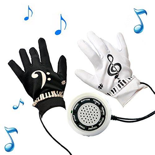 Kikar elektronische Klavierhandschuhe (Größe Medium)–tolles Geschenk für Jugendliche und Erwachsene.