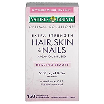 Nature's Bounty, Extra Strength Hair, Skin and Nails -150 Rapid Release Softgels