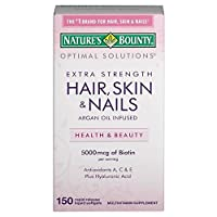 Nature's Bounty, Extra Strength Hair, Skin and Nails -150 Rapid release Softgels by Nature's Bounty