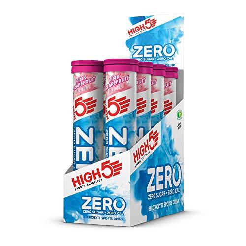 High5 ZERO Elektrolyt Tabletten mit Vitamin C - Vegan, Zuckerfrei und ohne Kalorien - Pink Grapefruit, 830 g