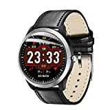 Bluetooth Smartwatch, BZLine N58 ECG PPG Smart Watch Met Elektrocardiograaf ECG Display, Holter ECG Hartslagmeter Bloeddruk Smartwatch Sport Männer Frauen Smart Band