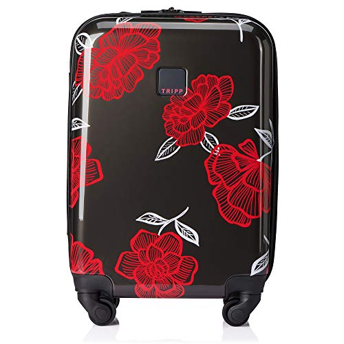 Tripp SlateWatermelon Bloom Cabin 4 Wheel Suitcase