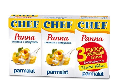 CHEF Panna Cucina Ml.125X3