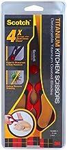 Scotch Kitchen Scissor Titanium Detach, Red