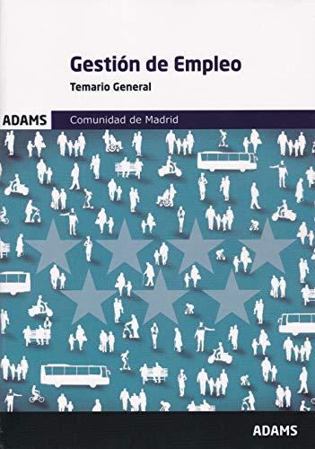 Temario general Gestión de Empleo de la Comunidad de Madrid
