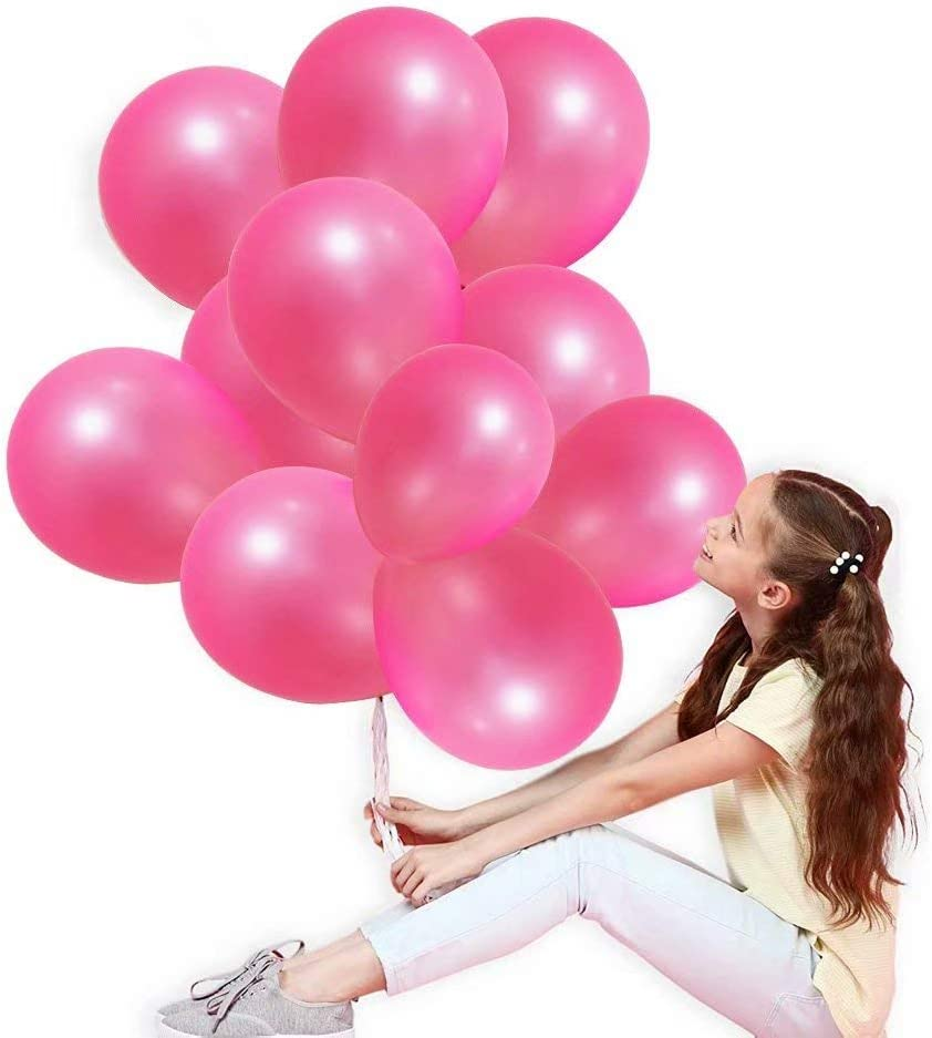 Max 66% lowest price OFF Pink Latex Balloons -Dark Party 12inch Cre Balloon
