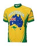 Men's Australia Cycling Jersey, XX-Large