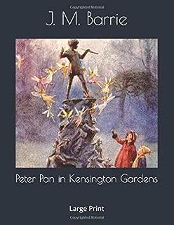 Peter Pan in Kensington Gardens: Large Print