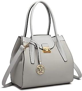 مس لولو حقيبة للنساء-رمادي - حقائب الكتف
