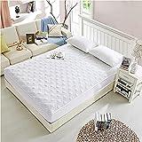 Liyingying Colcha de algodón, colchón Tejido de Alta Densidad, Doble Doble, Adecuado para Dormitorio, apartamento, Ropa de Cama Suave y cómoda-7_150 * 200 cm