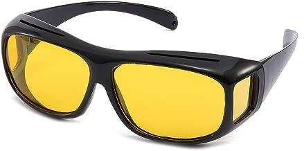 Unisex UV400 HD Vision Driving Sunglasses Wrap Around Glasses Anti Glare