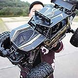 PETRLOY All Terrain High Speed Racing Car 1: 8 Scale 4WD Off-road Monster Truck 2.4Ghz Radio Control remoto Fast Rock Crawler Car Inalámbrico Eléctrico Drifting Escalada Buggy Niños Regalo de Navida