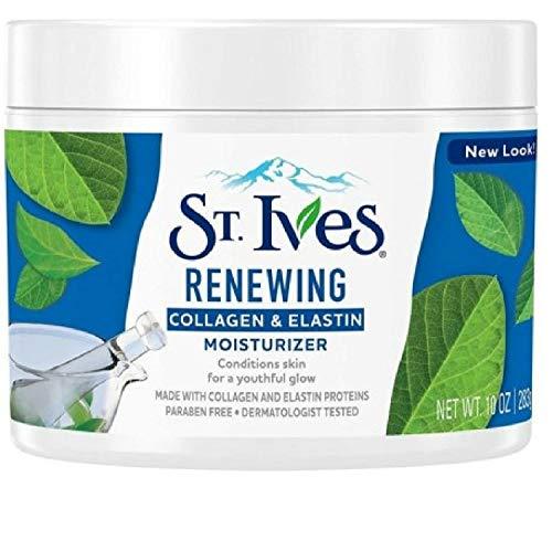 Cremas Hidratantes Para La Cara Facial Con Colageno - Reduce La Apariencia De Lineas Finas Y Arrugas - 10 Onzas