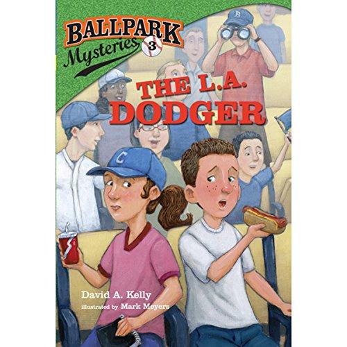 The L.A. Dodger audiobook cover art