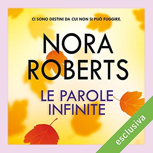 Le parole infinite audiobook cover art