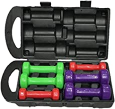 Marshal Fitness Vinyl Weights & Dumbbells Accessories 6 Kg - Multi Color