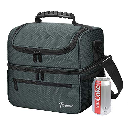 Extra Large Lunch Bag - 13L/ 22 Can, Insulated & Leakproof Adult Reusable...