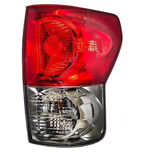 Taillight Tail Lamp Passenger Replacement for 07-09 Toyota Tundra Pickup Truck 81550-0C070