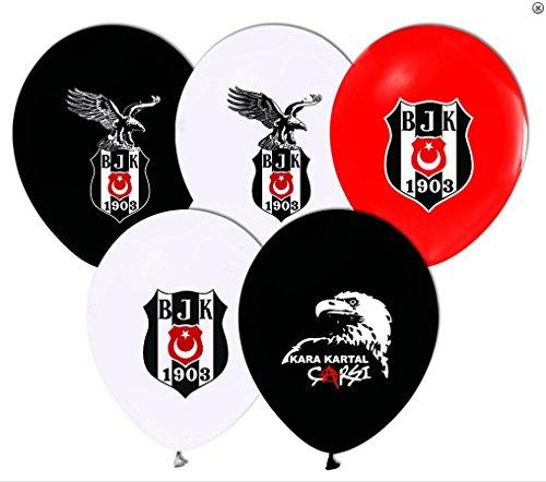 Neco Moden 10 x lizensierte Besiktas Luftballons