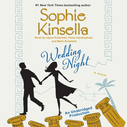 Wedding Night     A Novel              By:                                                                                                                                 Sophie Kinsella                               Narrated by:                                                                                                                                 Jayne Entwistle,                                                                                        Fiona Hardingham,                                                                                        Mark Bramhall                      Length: 13 hrs and 13 mins     1,356 ratings     Overall 4.0